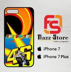 de4f43a37e valentino rossi sun moon logo Z3067 iPhone 7 Plus