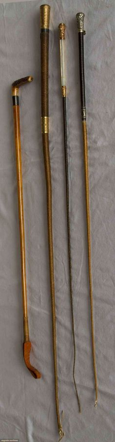 Four Riding Crops, 1850-1920, Augusta Auctions, March 21, 2012 NYC, Lot 132