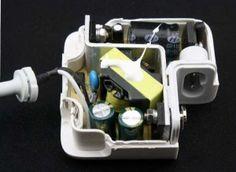 Counterfeit Macbook charger teardown: convincing outside but dangerous inside