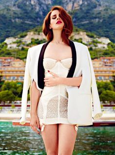 Lana del Rey is gorgeous! She is such an incredible talent and a very rare kind of artist these days.