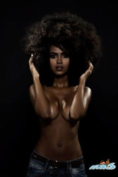 Love this afro #wow