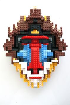 Lego-baboon