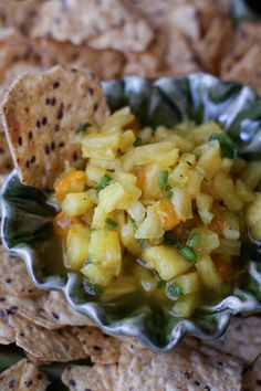 Pineapple Salsa from @Aggie's Kitchen