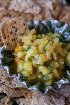 Pineapple Salsa from @Agatha Yu Yu Yu Opasik's Kitchen