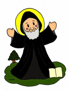 Mis ilustraciones: San Charbel Love Is All, Gods Love, St Charbel, Religion Catolica, Catholic Saints, All Saints, My Father, Party Hats, Minnie Mouse