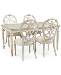 Covina 5-Piece Dining Set (Table & 4 Side Chairs) 5 Piece Dining Set, Chairs For Sale, Dining Room Furniture, Online Furniture, Side Chairs, Dining Table, Inspiration, Room Ideas, Home Decor