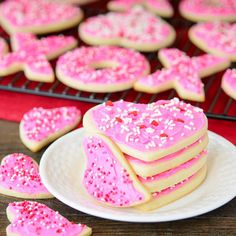 Frosted Cream Cheese Cutout Cookies #HolidayFoodParty