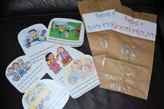 how to be a good friend book lesson with sorting cards for cooperative learning activity