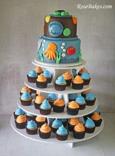 Under the Sea Baby Shower Cake - love the theme!