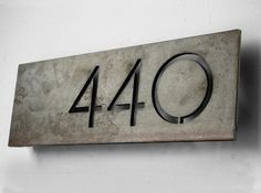 The Congress House Numbers by boldmfg on Etsy