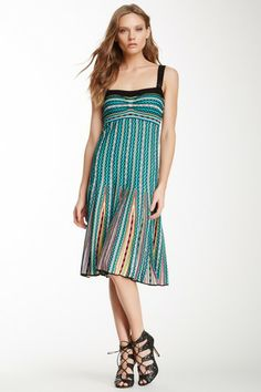 Sleeveless Knit Flare Dress by MSA Haute Couture Inc. on @HauteLook