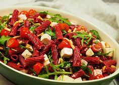 Feta-punajuuripastasalaatti