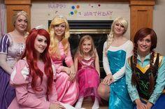 Ever After Princess Parties Princess Makeup, Princess Party, Birthday Ideas, Birthday Parties, Princess Aurora, Thalia, Ever After, Ariel, Princesses