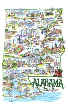 Image detail for -State of Alabama ... Fairhope must be one of the most charming towns I've ever seen.