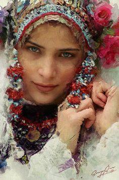 * Personification of beauty - Bulgarian woman * Олицетворение на красотата - Българка