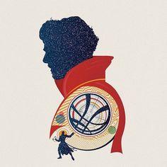 Doctor Strange Print - Matt Needle