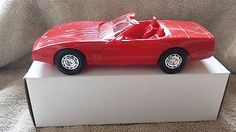 1987 CORVETTE Model Car Dealer PROMO Sport Chevy CHERRY CANDY RED TOY hot rod - http://hobbies-toys.goshoppins.com/models-kits/1987-corvette-model-car-dealer-promo-sport-chevy-cherry-candy-red-toy-hot-rod/