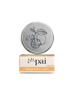 Pai Bergamot Organic Lip Balm £6