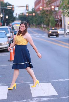 Our Streak of Success Skirt is perfect for strutting the sidewalk!
