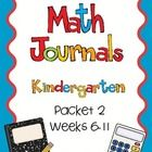 This packet includes 6 weeks of daily math journal pages created for kindergarten but can be used in other grade levels too.Week 1: Numbers 11-15...