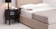 Bourbon Black Bedside Table | made.com