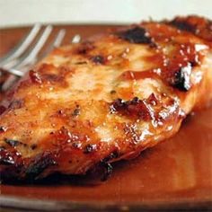 """Pressure Cooker BBQ Chicken~~If you want to use a crockpot like in the """"Sweet Baby Ray's Crockpot Chicken recipe--- then use this browning method after cooking in the crockpot to give it some crispness. More"""