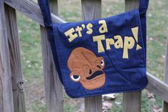 It's a Trap by StayingInStitches on Etsy