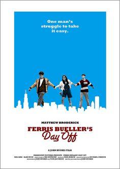 Ferris Bueller's Day Off by Owain Wilson