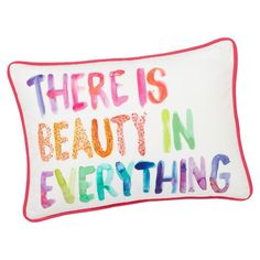 Paint Pallette Pillow Cover | PBteen