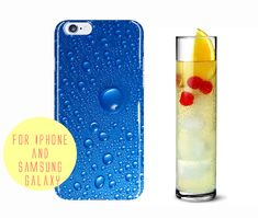 Raindrop Phone Case Samsung Galaxy s7 Edge by BannerDesignShop