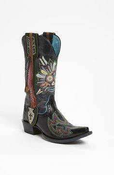 """Free shipping and returns on Ariat 'Sugar Soule' Boot at Nordstrom.com. Psychedelic colors emblazon a cowboy classic with """"Don't Walk in Fear"""" and fiercely flashy rocker-chic."""
