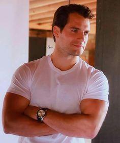 Look at those biceps!