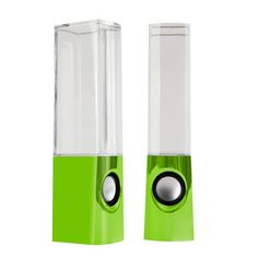 Water Dancing Speakers Green, $40, now featured on Fab.