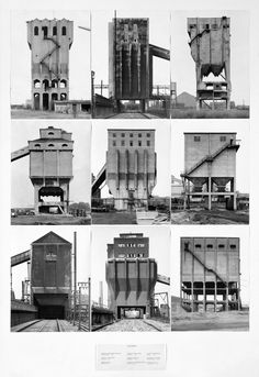Coal bunkers by the Bechers, 1947