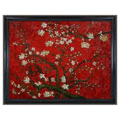 Branches of an Almond Tree by Van Gogh Framed Reproduction III