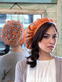 Hip Hip Beret | Yarn | Free Knitting Patterns | Crochet Patterns | Yarnspirations