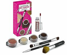 Bare Minerals Get Started Eyes Cheeks Lips 8 Piece Collection - Light to Medium Skintones *** See this awesome image : Travel Makeup Travel Makeup Essentials, Bare Minerals, Camping And Hiking, Makeup Cosmetics, Makeup Brushes, Get Started, Makeup Sets, Skin Care, Lips
