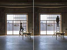Céline Condorelli, veduta della mostra bau bau. Courtesy Fondazione HangarBicocca, Milano. Photo Agostino Osio