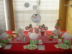 so doing this...north pole breakfast great time for elf on a shelf to show up!