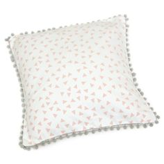 Add a soft touch to a girl`s room with this unique scatter cushion Screen printed on cotton canvas Size Inner not included.