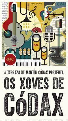 CORES DE CAMBADOS: UN ANO MÁIS OS XOVES EN MARTÍN CÓDAX, MÚSICA!!