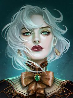 Digital Painting Inspiration – About Anime Fantasy Girl, Chica Fantasy, Fantasy Women, Fantasy Inspiration, Painting Inspiration, Character Inspiration, Dnd Characters, Fantasy Characters, Character Portraits