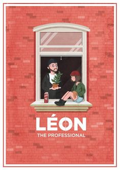Leon The Professional ~ Alternative Movie Poster by Maria Suarez Inclan Leon The Professional, Professional Poster, Art And Illustration, Professional Wallpaper, The Godfather, Love Movie, Movie Tv, Poster Minimalista, Pop Culture Art