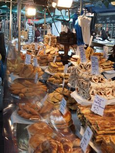 Incredible bakery stall in Spittalfields, I love the markets in the Shoreditch area because they're full of great, well priced home-baked snacks.