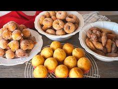Magdalenas, buñuelos y rosquillas con la misma receta. ¡LA RECETA DEFINITIVA! - YouTube