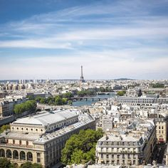 View from the Saint-Jacques Tower - Paris