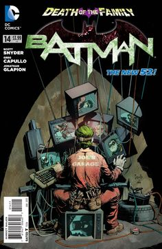 The cover to Batman #14 (2013), art by Greg Capullo & FCO Plascencia
