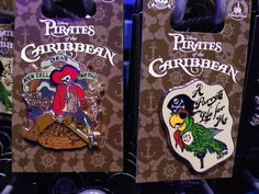 New Pirates Of The Caribbean Pins Released At Walt Disney World