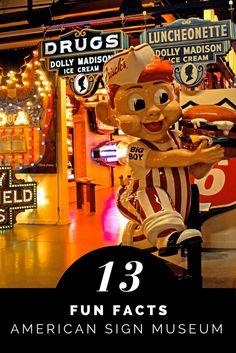 American Sign Museum in Cincinnati, Ohio - 13 fun facts! #cincinnati