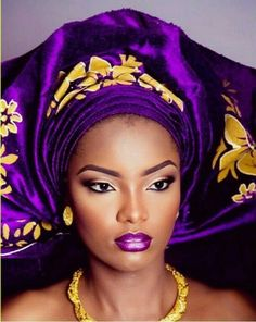 Purple Yellow Wedding Inspiration Board. With gorgeous bits of African Style.
